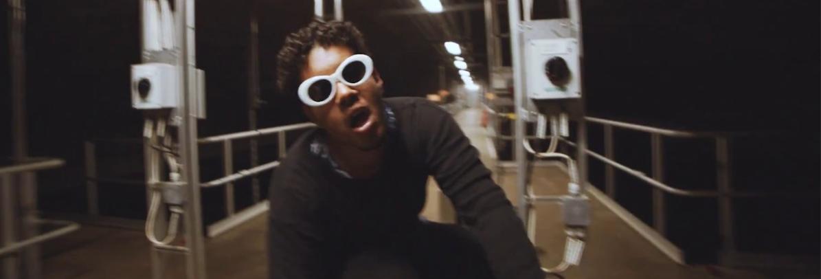 Myyrä-musiikkivideon kuvaukset puhdistamolla