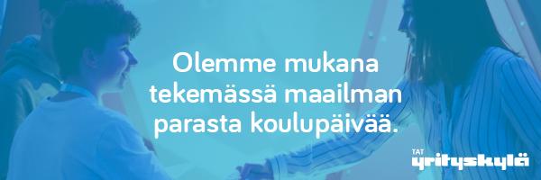 Yrityskyläbanneri