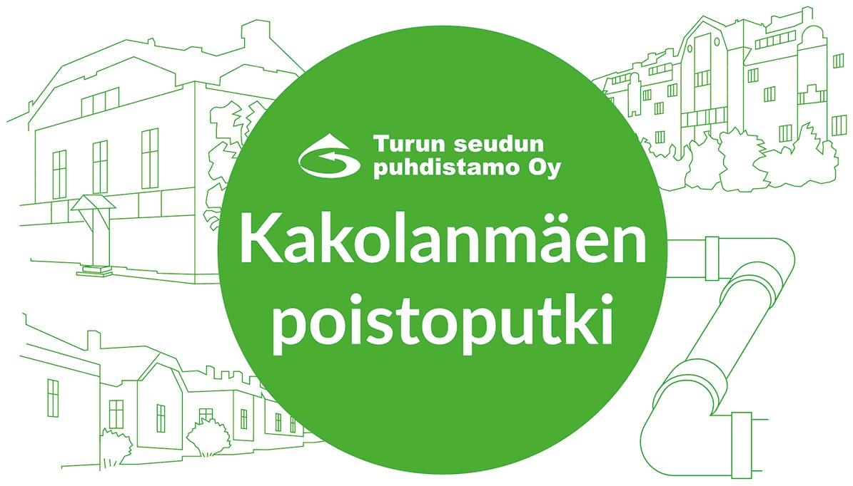Kakolanmäen poistoputkiprojektin logo