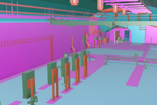 UV-laitos 3D-malli